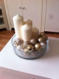 mein adventskranz beige gold weiss mis manualidades