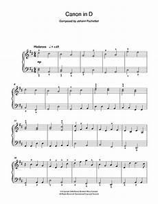 pachelbel s canon in d major piano sheet music by johann