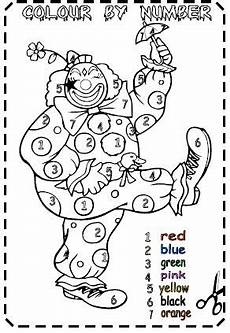 colors and numbers worksheets 18744 colour by number worksheet
