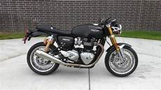 798135 2017 Triumph Thruxton R 1200 Used Motorcycles For