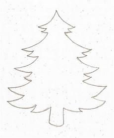 tannenbaum vorlage selbstgemacht tannenbaum vorlage