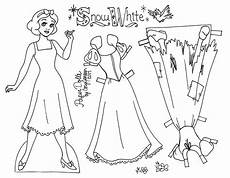 paper doll coloring pages 17642 snow white line paper doll to color by 1 of 3 sn 246 vit disney pyssel