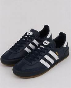 adidas trainers navy white leather 80s casual