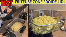 Friteuse Lidl Silvercrest Zone Froide Sef 2300w Cool Zone