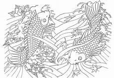 Sterne Malvorlagen Japan Ausmalen Als Anti Stress Japan Japan Riesige Fische 11