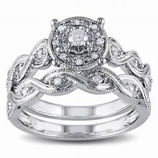 miadora sterling silver 1 5ct tdw diamond infinity