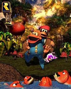 Kaos Mario Bros Mario Artworks 15 gamer kong country 3 dixie kong s
