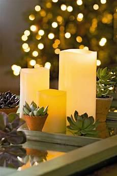 candele led led pillar candles ivory flameless candles gardeners