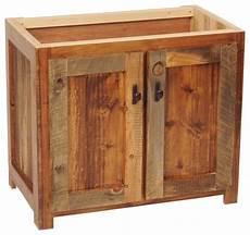 waschtisch holz landhausstil rustic wood bathroom vanity base 30 quot w rustic bathroom