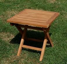 beistelltisch klappbar teak beistelltisch klappbar 45x45cm picnic kaufen bei as