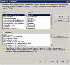 sccm product key crack create report in sccm with computer information tielen consultancy