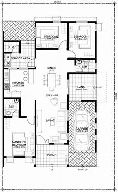 modern one bedroom house plans edwardo one story dream house plan