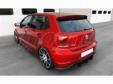 Vw Polo 6c Gti Facelift Racer Rear Bumper Extension