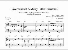 have yourself a merry christmas judy garland
