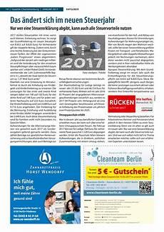 gazette charlottenburg januar 2017