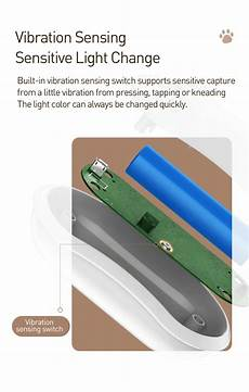Baseus Lite Silicone Perfectly Fits by Baseus Led Light Soft Silicone Touch Sensor