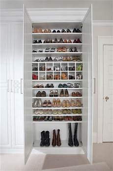 Custom Shoe Closet Traditional Closet New York By
