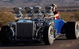 Hot Rod 1927 Ford Model T With Two Engines  Vehicles