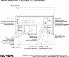 grafik eye wiring diagram 0097 wirless lighting controller user manual lutron electronics