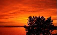 Orange Wallpaper Landscape