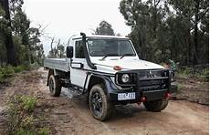 mercedes g professional cab chassis ute