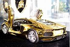 gold lamborghini aventador model costs more than 17 real cars