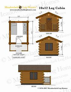 tiny house floor plans 10x12 bluebird 10x12 log cabin meadowlark log homes