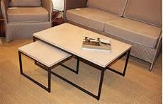 table basse en béton ciré table basse quot b 233 ton cir 233 quot une s 233 lection au charme du logis