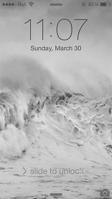 white lock screen black tint across the top of my lock screen and wallpaper