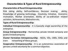 rural development in india through entrepreneurship