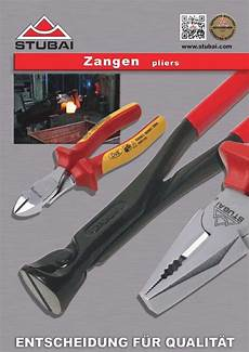 Werkzeug Zangen8mm by Zangenkatalog Pdf Stubai Zmv Gmbh