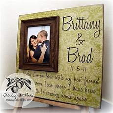 Wedding Gift Frames wedding gift personalized picture frame 16x16 the sugared