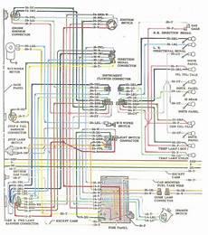 1964 Colored Wiring Diagram The 1947 Present Chevrolet