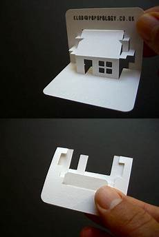 pop up business cards templates new 3 d business card series vii house make business