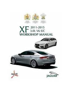 car manuals free online 2011 jaguar xf lane departure warning jaguar car service repair manuals for sale ebay