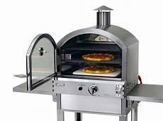 Four 224 Pizzas En Inox 224 Gaz Type Professionnel