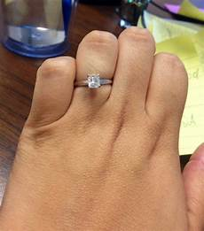 what size is an average size ring should i upgrade weddingbee