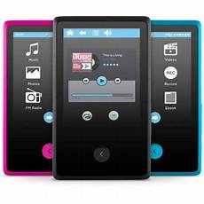 bluetooth mp3 player ematic 8gb 2 4 quot touchscreen mp3 player with