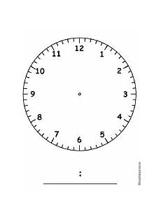telling time worksheets blank clock faces 2933 time and calendar activities at enchantedlearning