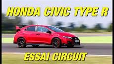 essai civic type r honda civic type r 310 ch essai circuit slovakiaring