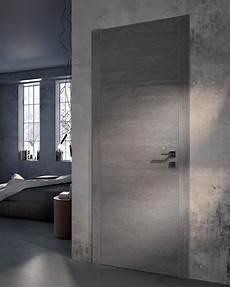 porte interieur grise porte contemporaine grain atelier bertoli bruno