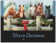 20 christmas wreath horses stable greeting flat cards envelopes seals ebay