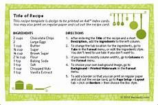 recipe card writing template 10 tips for writing your own original recipes recipes