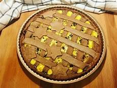 crema pasticcera al cacao amaro crostata al cacao amaro con crema pasticcera e scaglie di cioccolato fondente una vera delizia