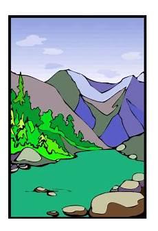 Malvorlagen Landschaften Gratis Gratis Gebirge Ausmalbild Malvorlage Landschaften