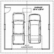 24x24 2 car garage 24x24g1e 576 sq ft excellent floor plans 7draw drawing details