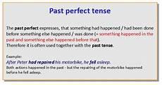 past past tense