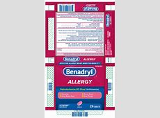 how to treat benadryl overdose