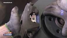 bremsscheiben bremsbel 228 ge wechseln vorderachse vw
