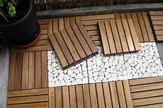 Kombination Aus Holz Und Natursteinklickfliesen F 252 R Die